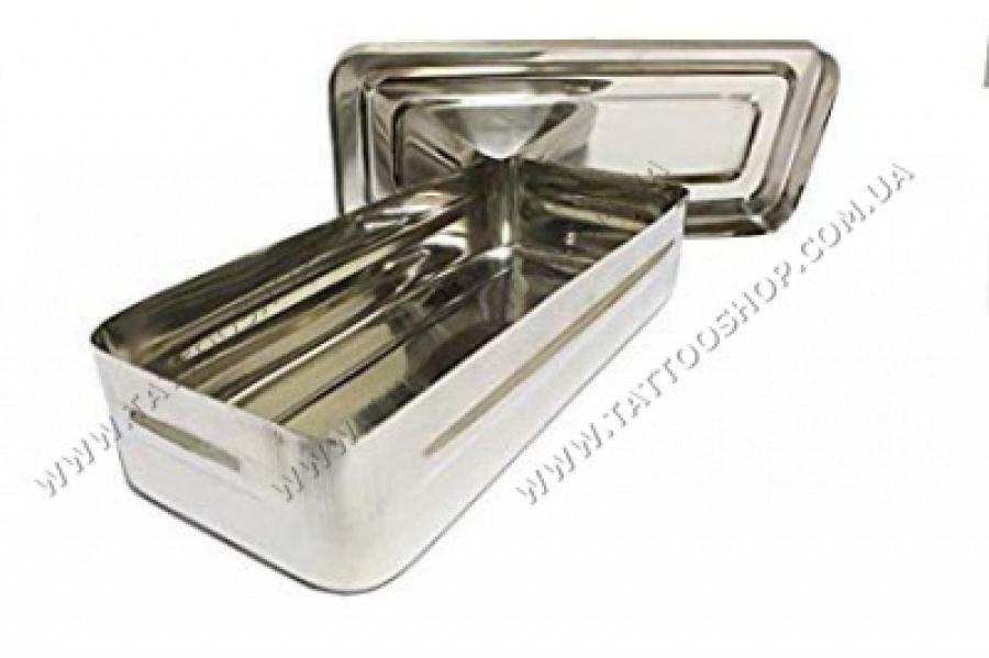 Instruments Box нерж. сталь. 20 x 10,5 x 4,5 cm . Pakistan