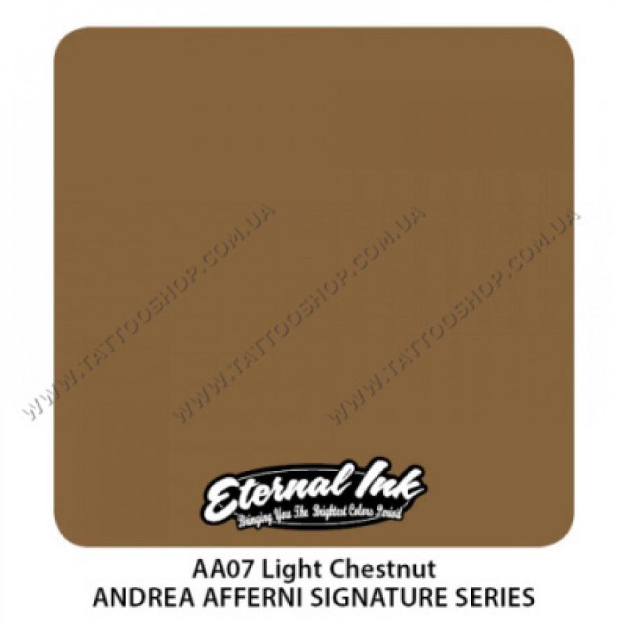 LIGHT CHESTNUT - Andrea Afferni Set. Eternal Tattoo Ink 30 мл. USA
