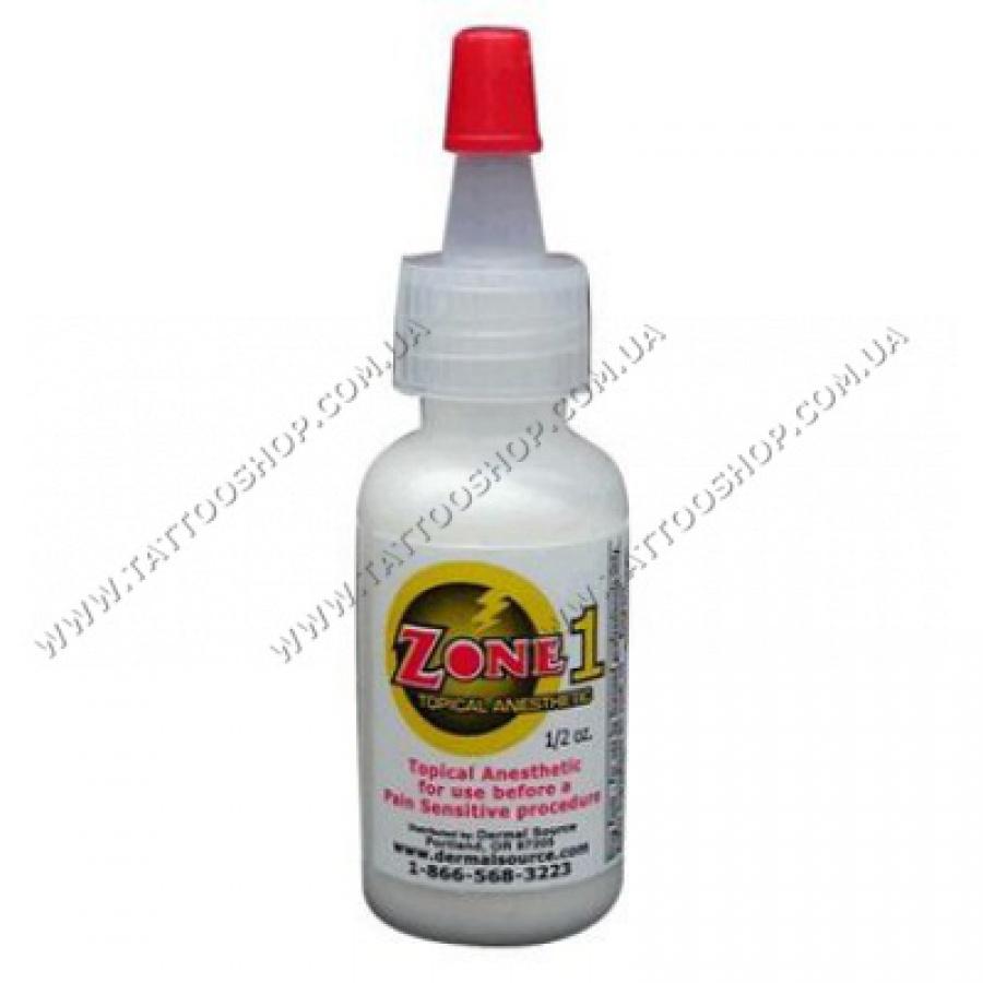 Zone 1 Topical Cream Анестезия для Губ и Глаз.16 мл.США.