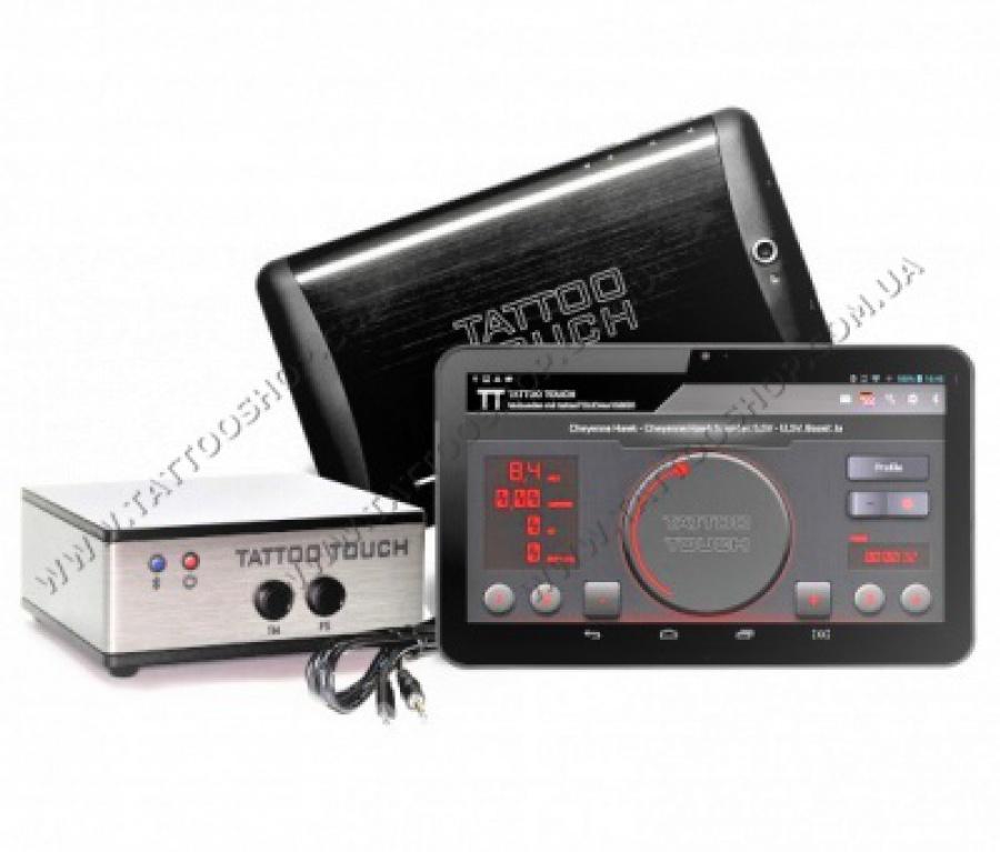 Сенсорный блок питания TATTOO TOUCH - PowerBox + 7' Tablet.Kw.Pl.