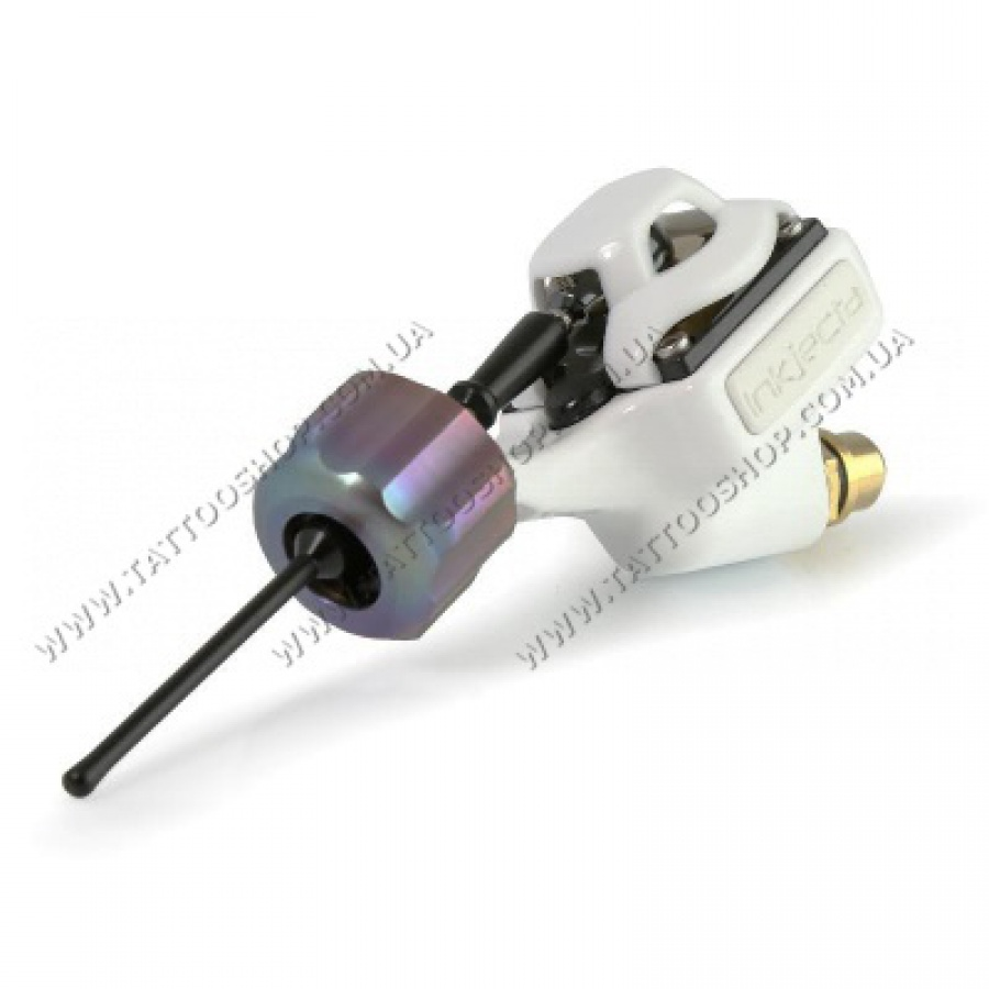 СКОРО.InkJecta Flite Nano Elite Titan Tattoo Machine – WHITE. DE