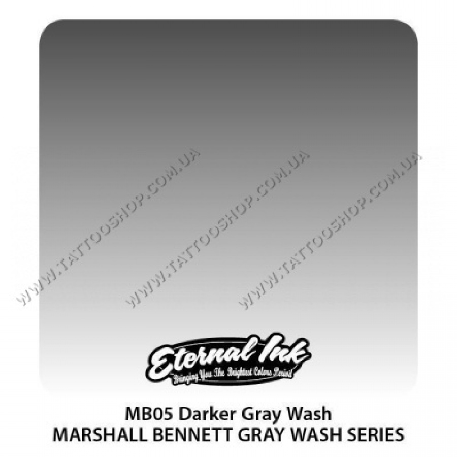 DARKER GRAY WASH - Marshall Bennett Eternal. 30 мл.США.