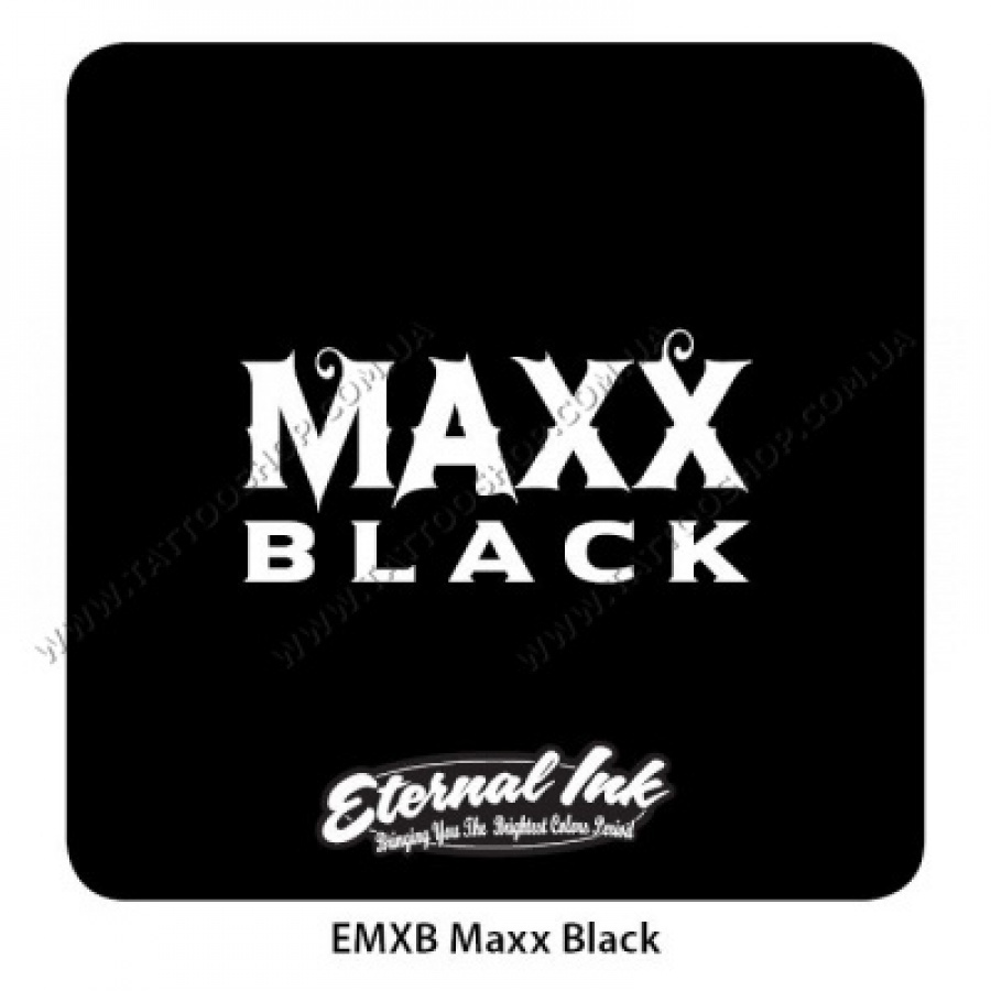 Maxx Black — Eternal Tattoo Ink. НА ВЫБОР 30-60-120 мл. США
