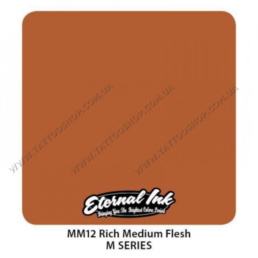 RICH MEDIUM FLESH - M Series - Eternal Tattoo Ink 30 мл. USA