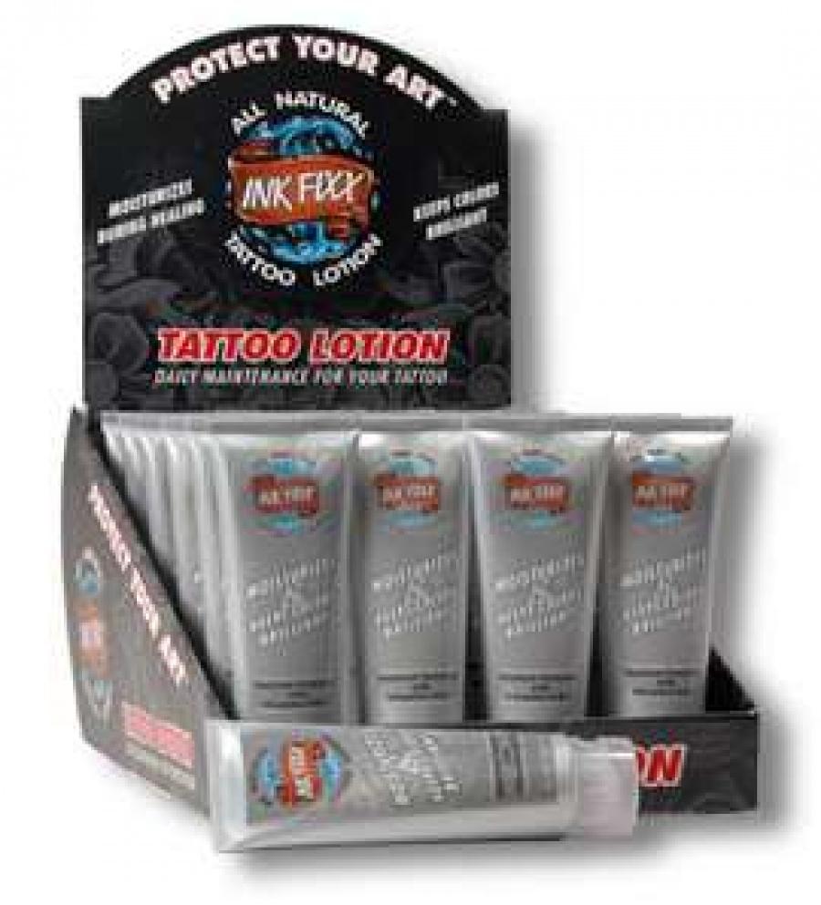 Гель фиксатор краски TATTOO LOTION-INK FIXX.70 грамм.100%-США.