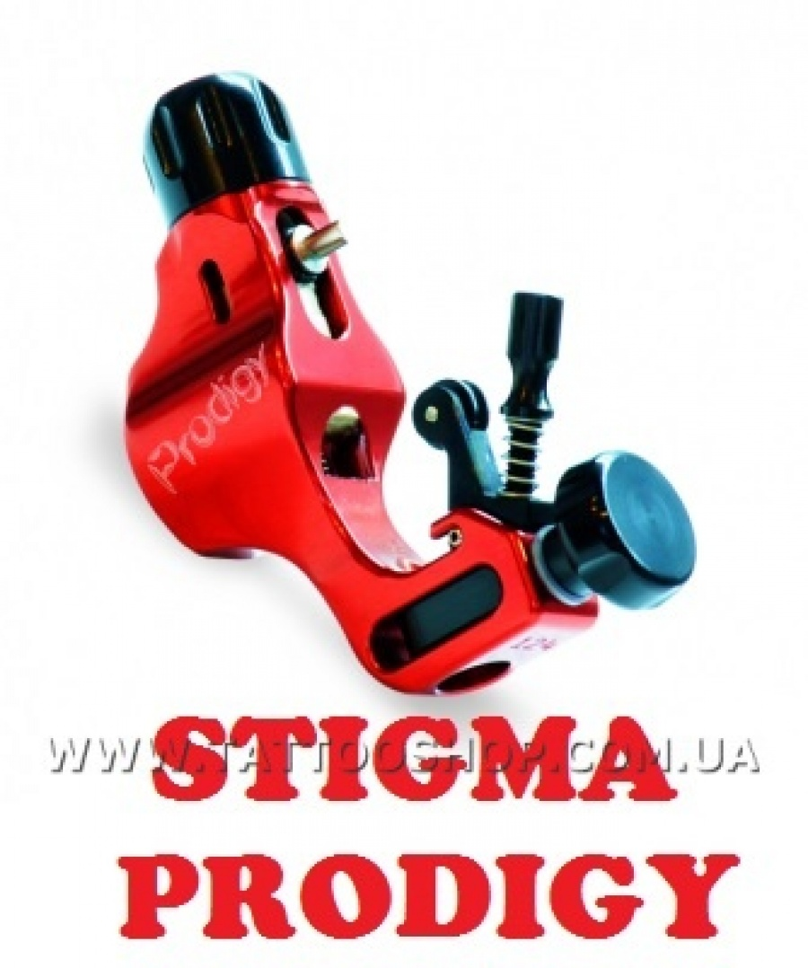 THE PRODIGY Body Only in RED Rotary Tattoo Machine by STIGMA