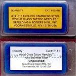 ПРЕМИУМ КЛАСС.World Class™ .015,Stainless Steel Needles.50 шт.СШ