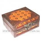 РАСПР.Качественная деревянная коробка с резьбой, для тату машин.