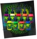 Ультрафиолетовый набор NUCLEAR UV by Moms Inks.9 фл.х30 мл.