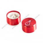 Peak Red Aluminum Knob for Lazur Tattoo Power Supply. 1 шт. USA