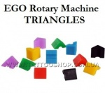 Replacement pack of power triangles for use with EGO Rotary mach