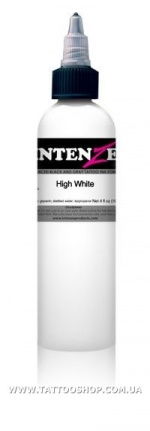 HIGH WHITE by BOB TYRRELL Tattoo Ink 15-30-60-120 мл.