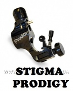 THE PRODIGY Body Only in BLACK Rotary Tattoo Machine by STIGMA.
