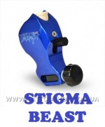 THE BEAST Body Only in Blue Rotary Tattoo Machine by STIGMA.