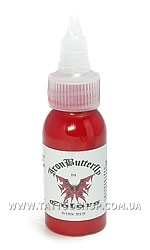 DARK RED Iron Butterfly Tattoo Ink 1 oz