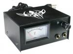 Блок питания стальной (черный) аналоговый.15V-1.5А.1 шт.(США).
