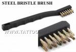 BRASS BRISTLE BRUSH Tattoo Tube Tip Cleaning