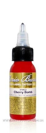 CHERRY BOMB by Mario Barth GOLD LABEL Tattoo Ink 1oz.