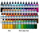 Палитра красок Intenze 54 цвета по 30 мл.США.